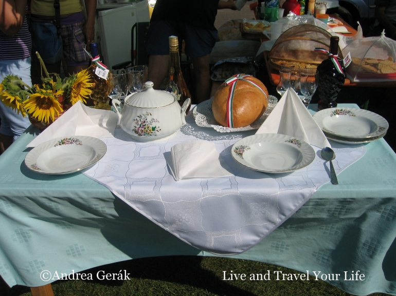 New bread in Ibrany, Hungary. Photo: Andrea Gerak