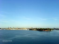 Leaving Stockholm behind
