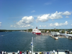 Mariehamn harbor